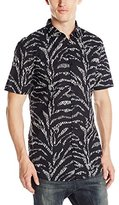 Zanerobe Men's Ikat Short Sleeve Shirt