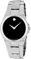 Movado 605556 Men's Luno Silver Stainless Steel Watch
