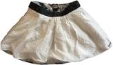 Burberry Ecru Skirt