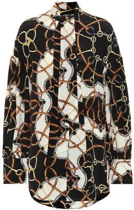 Rokh Printed silk blouse