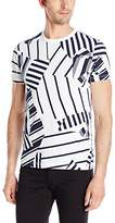 French Connection Men's Mustang Stripe T-Shirt