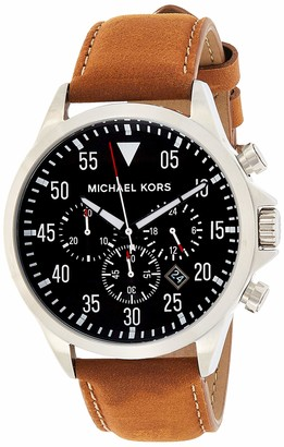 Michael Kors Men's Gage Brown Watch MK8333