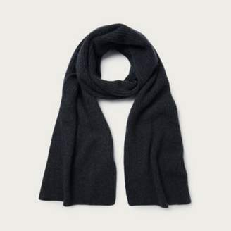 The White Company Mens Cashmere Scarf , Grey, One Size