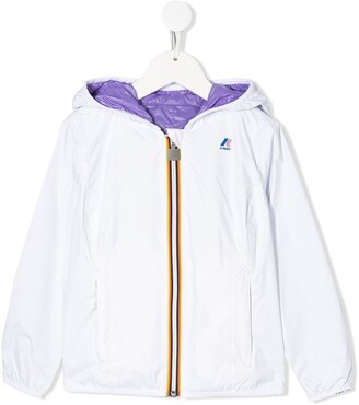 K Way Kids Lily reversible hooded jacket