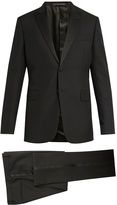 Valentino Satin-trimmed wool and mohair-blend tuxedo