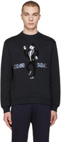 Dolce & Gabbana Navy Embroidered Musician Pullover