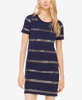 MICHAEL Michael Kors Chain-Embellished T-Shirt Dress
