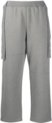 MM6 MAISON MARGIELA Draped Detail Cropped Track Pants