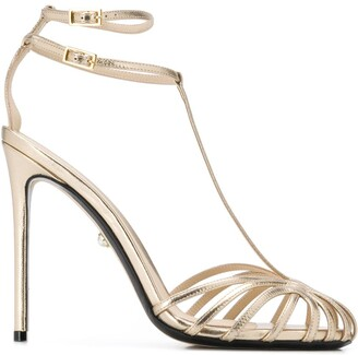 ALEVÌ Milano Metallic High Heel Sandals