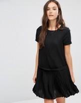 Vero Moda Hanna Pleat Short Dress
