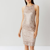 Coast Ostara Metallic Lace Dress