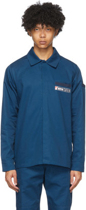 AFFIX Navy Beach Shirt