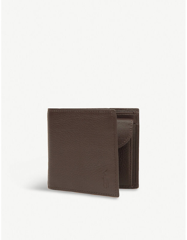 511343d6 Pebbled leather wallet