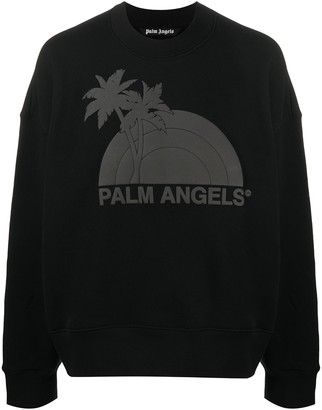 Palm Angels Graphic Print Sweater