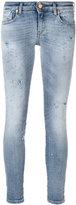 Diesel distressed skinny jeans - women - Cotton/Polyester/Spandex/Elastane - 25