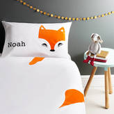 Holubolu personalised childrens clothing Fox Pillowcase