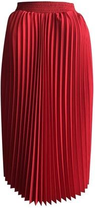 Balenciaga Red Cotton - elasthane Skirt for Women