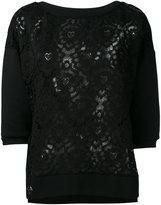 Philipp Plein Kira sweatshirt - women - Cotton/Polyester/Polyethylene/glass - XS