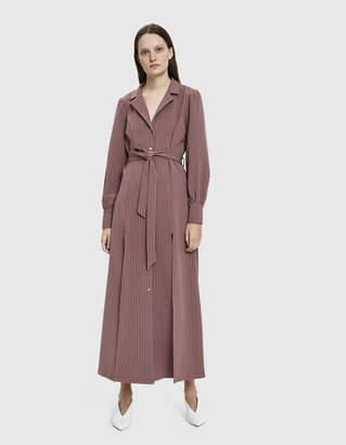 Farrow Luna Striped Maxi Dress