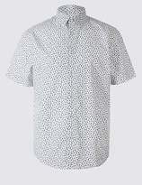 Marks and Spencer Pure Cotton Printed Shirt