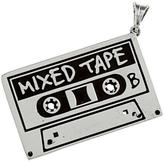 White Trash Charms V&R Holdings Inc. Sterling Silver 2D Cassette Tape Necklace