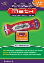 Leapfrog Turbo Twist Math Cartridge, Grades 1 & 2