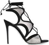 Rene Caovilla strass sandals