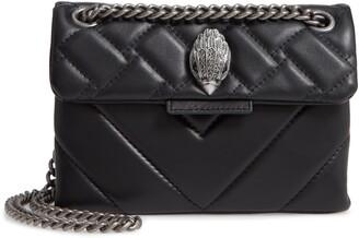 Kurt Geiger Mini Kensington Quilted Leather Crossbody Bag