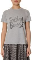 Golden Goose Deluxe Brand Logo Printed Cotton T-shirt