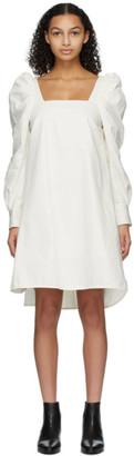 Won Hundred White Elise Short Dress