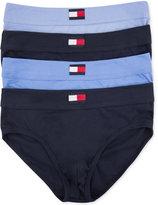 Tommy Hilfiger Men's 4-Pack Hip Brief - 09TD001