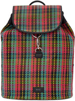 Paul Smith Multicolor Woven Check Backpack