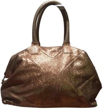 Saint Laurent Easy Gold Glitter Handbags
