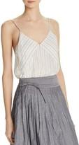 Vince Stripe Silk Camisole