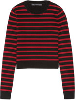 Marc by Marc Jacobs Cropped stretch wool-blend sweater