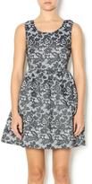 Kling Grey Floral Dress