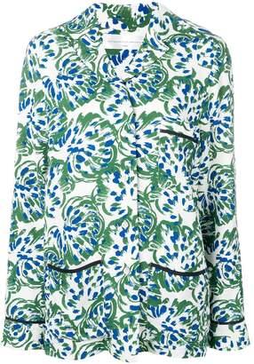 Victoria Victoria Beckham floral pyjama shirt