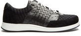Bottega Veneta Leather and suede low-top trainers