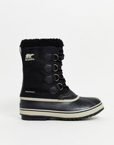 Sorel SOREL Pac nylon snow boots in black
