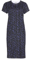 Balenciaga Printed Cotton T-shirt Dress