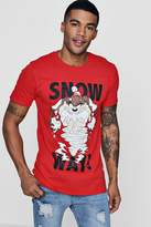 Snow Way Looney Tunes License T-Shirt
