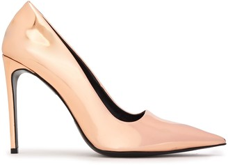 Stella McCartney Mirrored Faux Leather Pumps