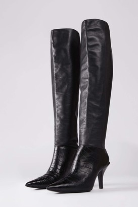 Camilla And Marc Carmine Over Knee Boot