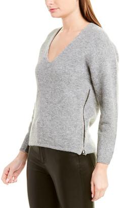 Mason by Michelle Mason Crop Alpaca & Wool-Blend Sweater