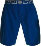 Versace Beachwear Swim Shorts Blue