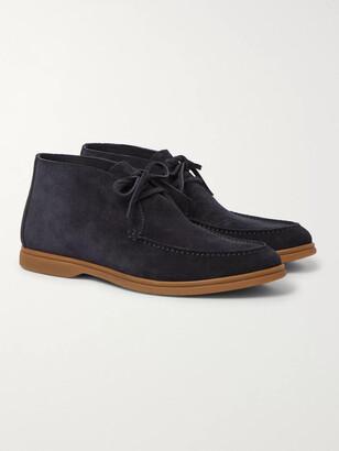 Brunello Cucinelli Suede Chukka Boots