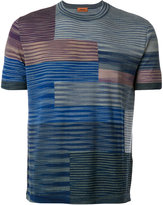 Missoni knitted T-shirt - men - Nylon/Wool - 46