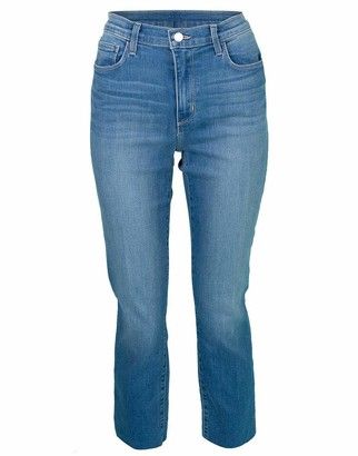L'Agence Sada High Rise Cropped Slim Jean