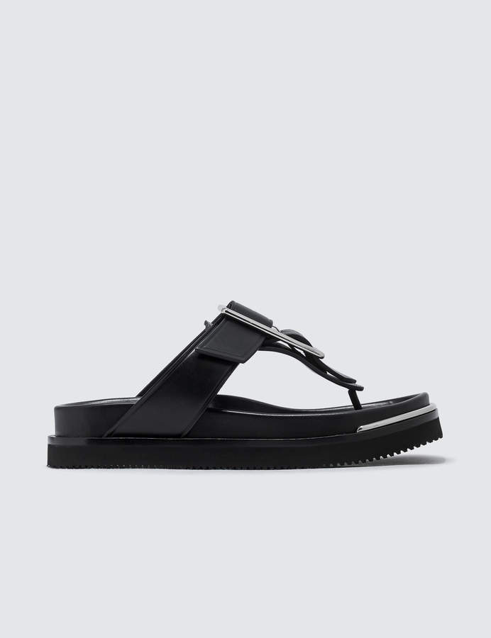 Alexander Wang Corin Black Smooth Leather