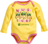 John Deere Yellow 'Newest Model' Bodysuit - Infant